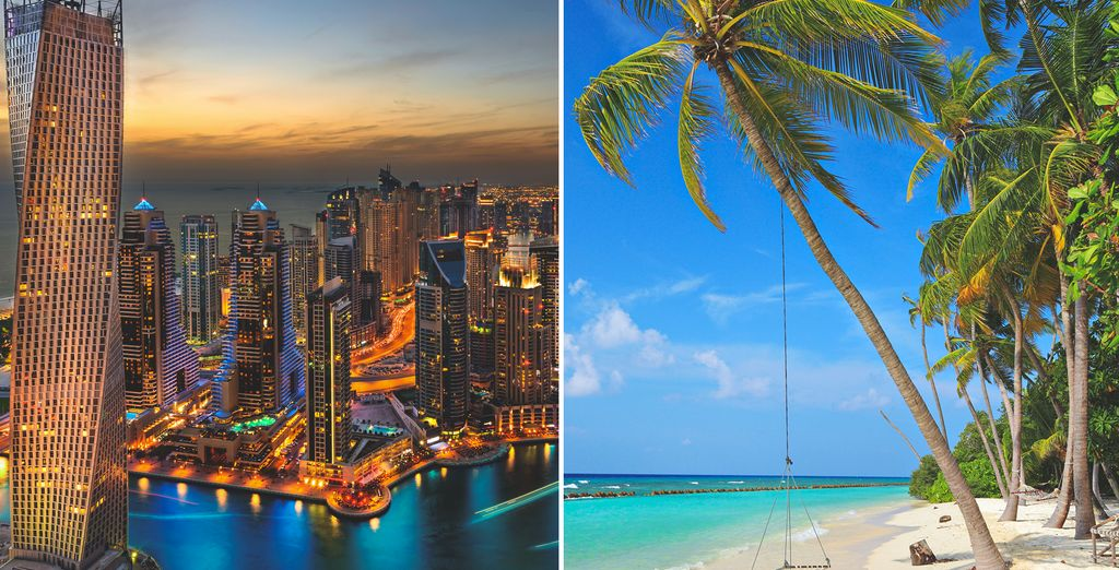 Discover a dazzling city and an idyllic island on this twin centre trip - JW Marriott Marquis Dubai & Cocoon Maldives 5* Male