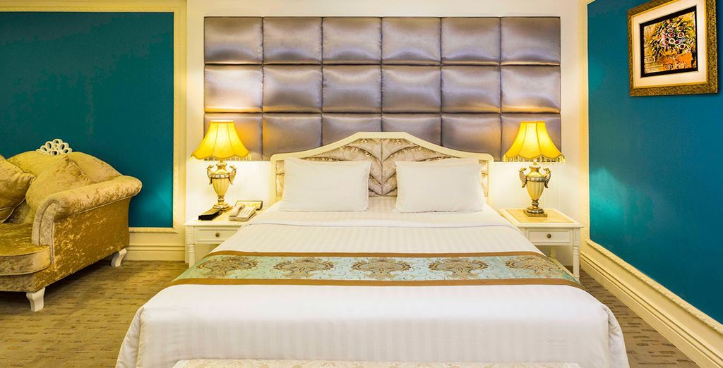 Offering comfortable guestrooms [The Grand Kandyan Hotel pictured]
