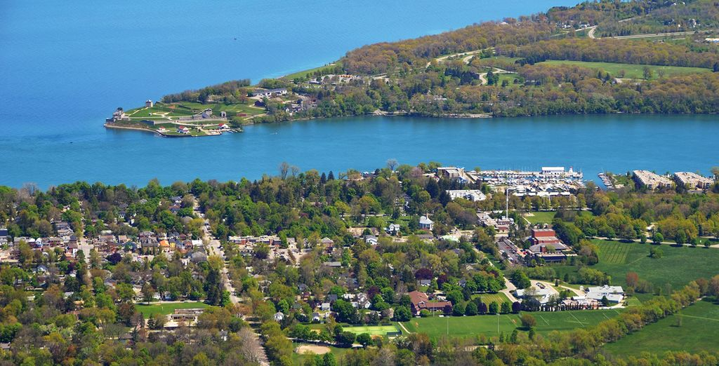 Located in the charming town of Niagara on the Lake