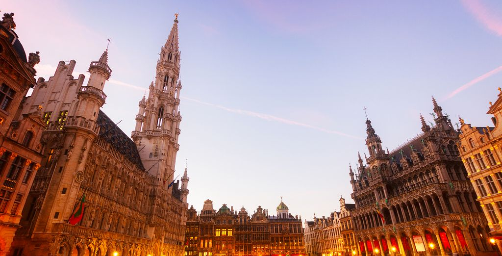 You are just a few minutes from the centrepiece of the city, the Grand Place