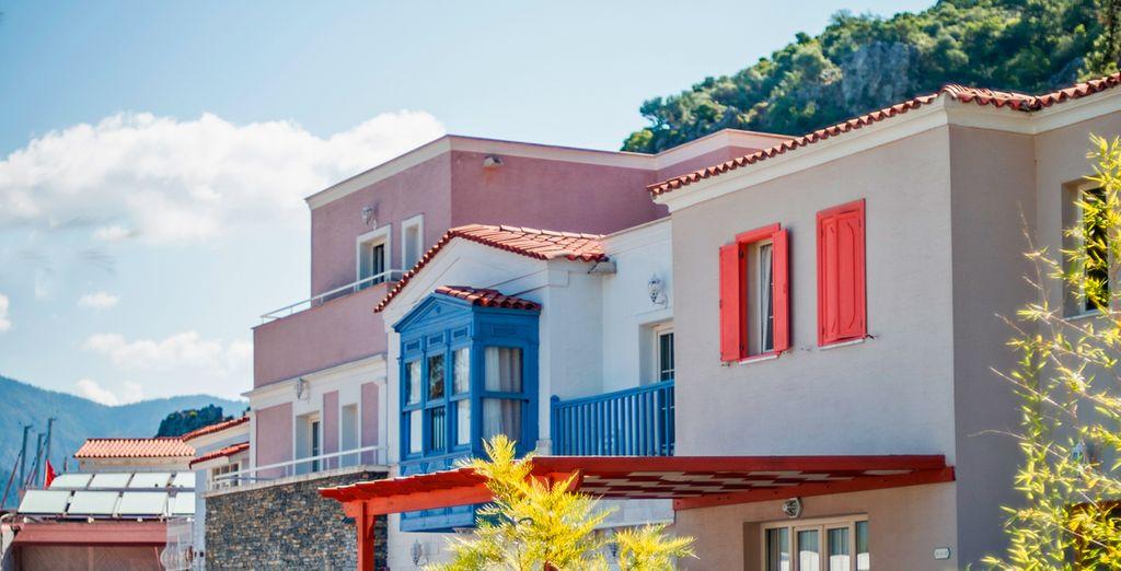 Enjoy vibrant accommodation