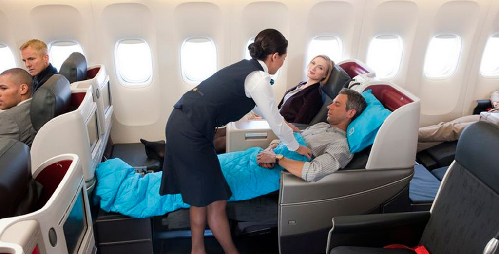 Business Class takes luxury travel to the next level!