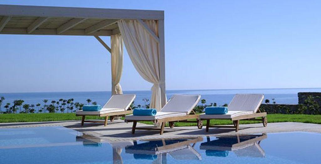 Pool - Royal Blue Resort & Spa***** - Crete - Greece Crete