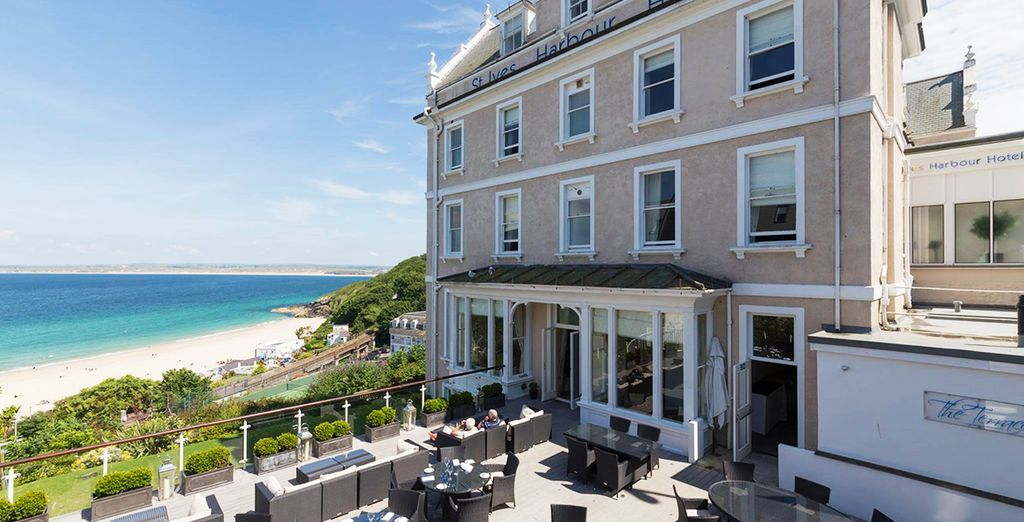 From the St Ives Harbour Hotel & Spa - St Ives Harbour Hotel & Spa 4* Cornwall