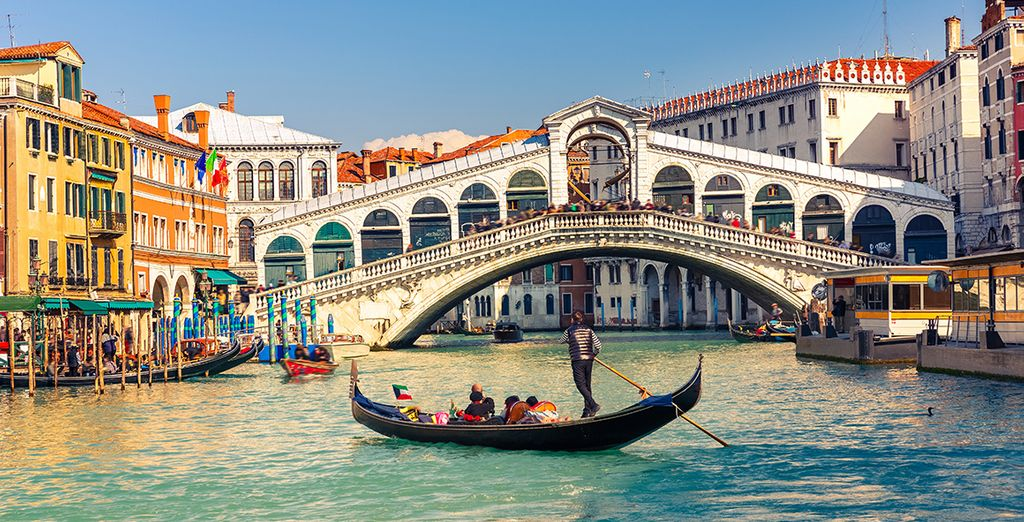 Discover the romantic city venice