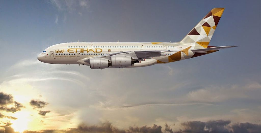 Fly with Etihad Airways