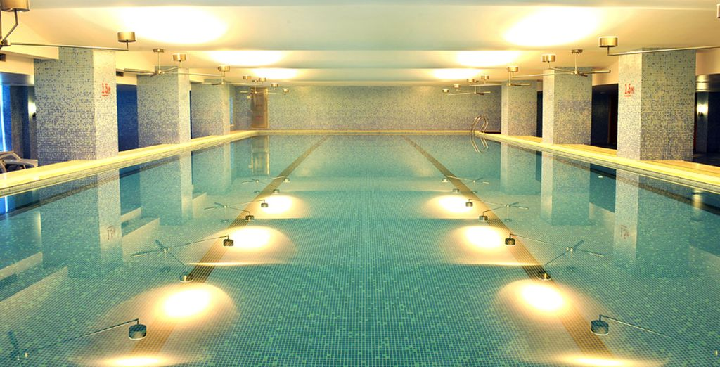And access to brilliant leisure facilities