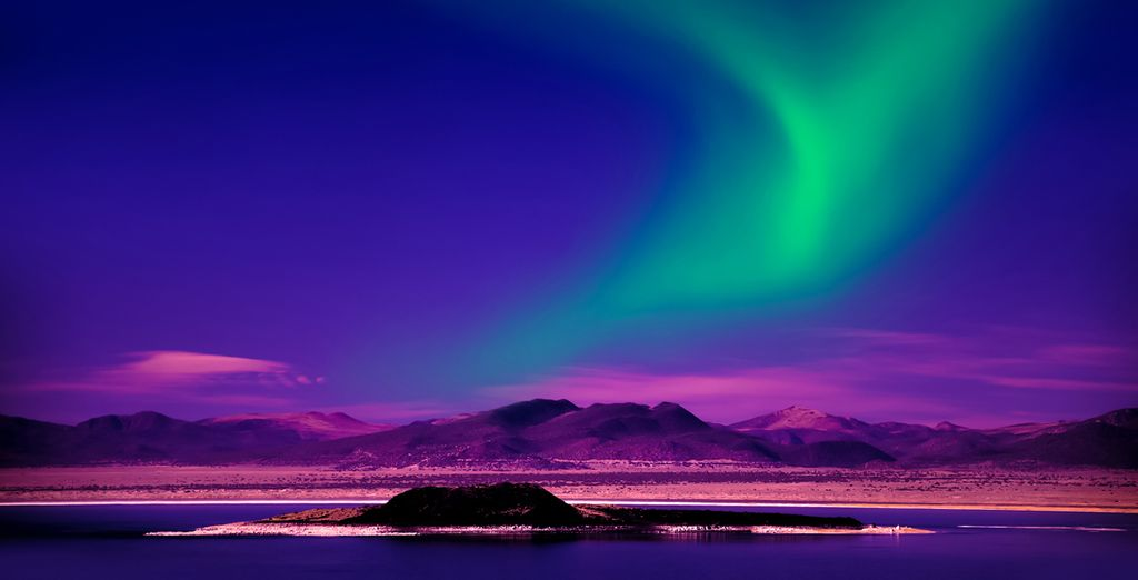 To catch a glimpse of the natural phenomenon, the Northern Lights