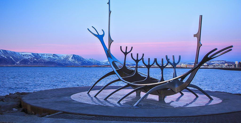Head out and explore Reykjavik