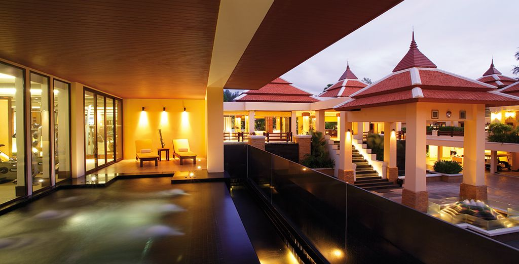 Of this stylish luxury resort