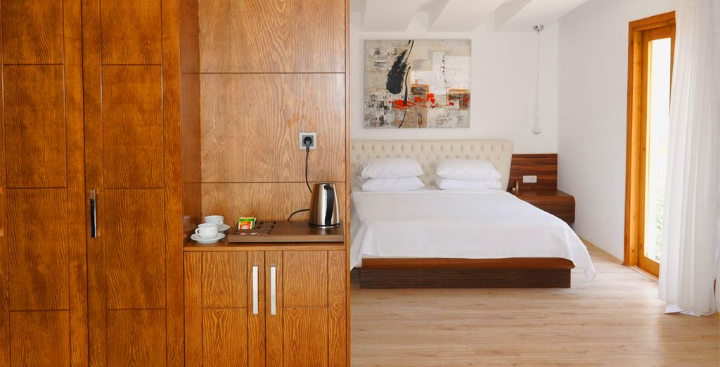 Enjoy your stay in a comfortable and spacious Standard Room