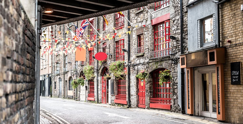 Explore its meandering streets and quaint alleys