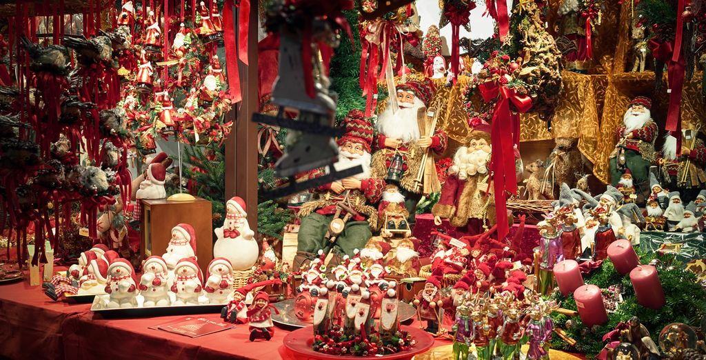 You will find beautiful christmas markets