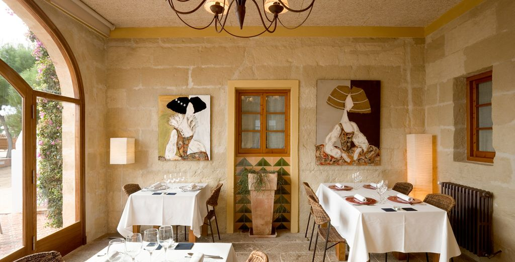 Wine and dine in the elegance of the hotel restaurant