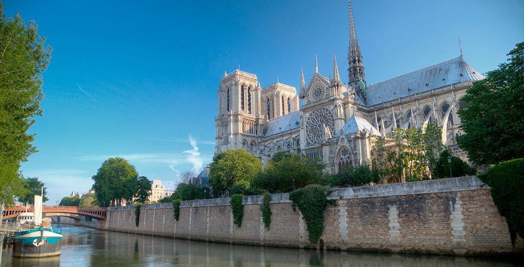 As well as the iconic sights along the Seine