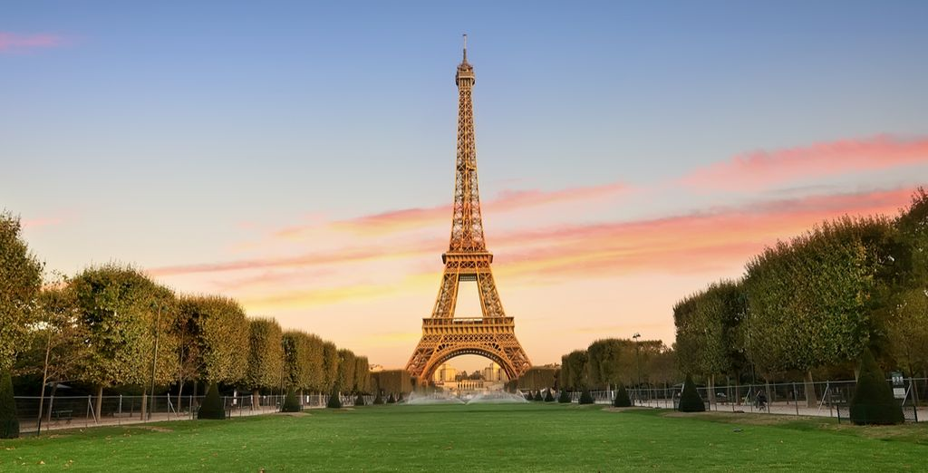 Enjoy an unforgettable view from this iconic tower