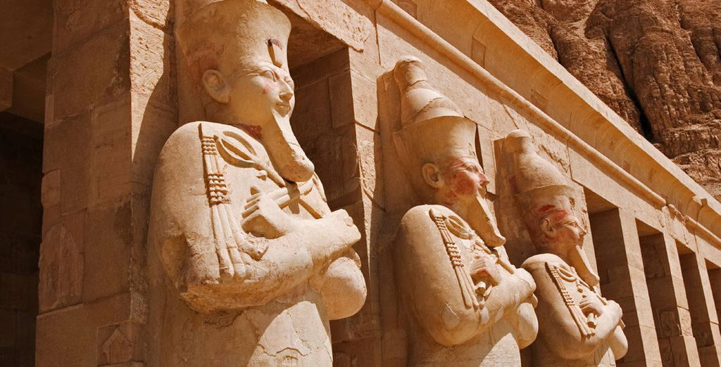 Finish on the East Bank with a visit to the Karnak & Luxor Temples