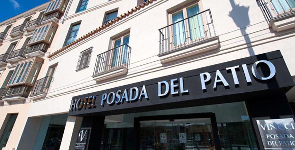 A truly superb property - Vincci Posada del Patio***** - Malaga - Spain Malaga