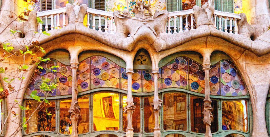 Take in the fantastic architecture