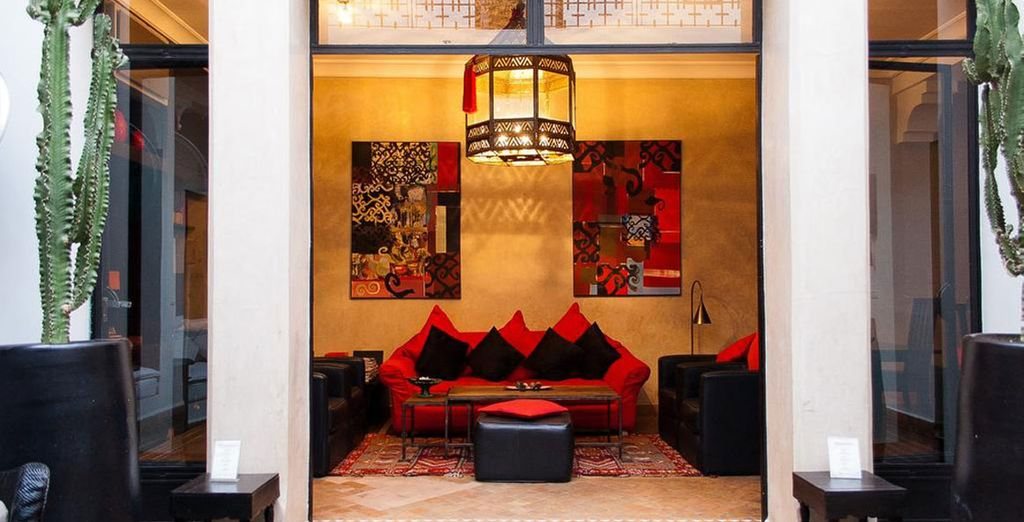 With stylish interiors