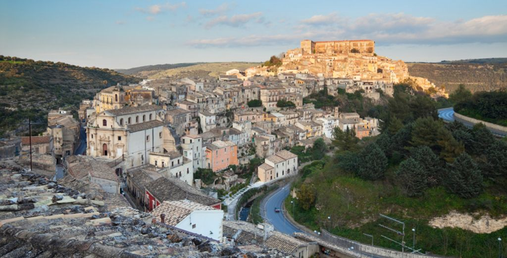 Explore Ragusa with optional car hire