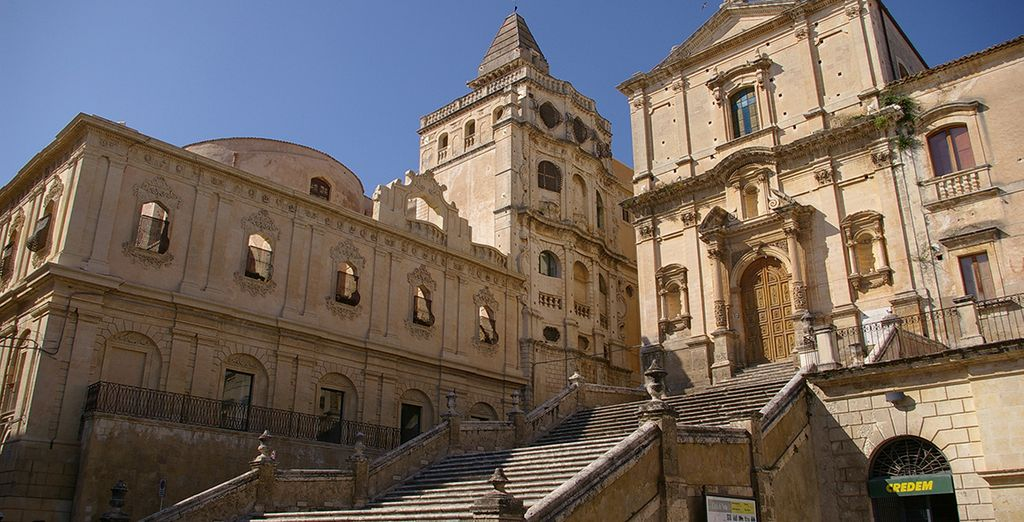 And nearby charming town, Noto