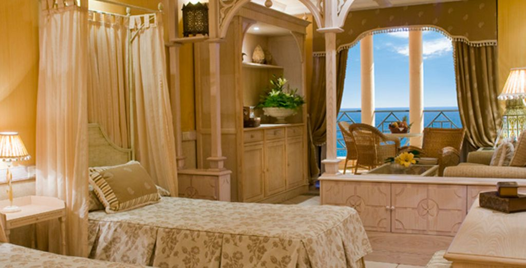 Where you'll stay in a Sea View Junior Suite
