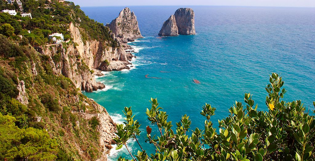Or the glamorous island of Capri