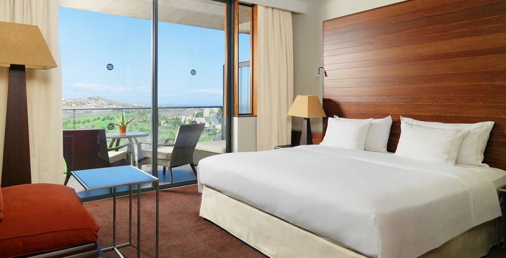Stay in an upgraded, spacious room