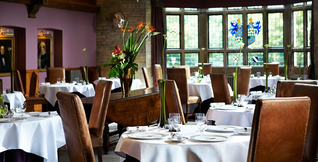 The Michelin starred Bybrook Restaurant