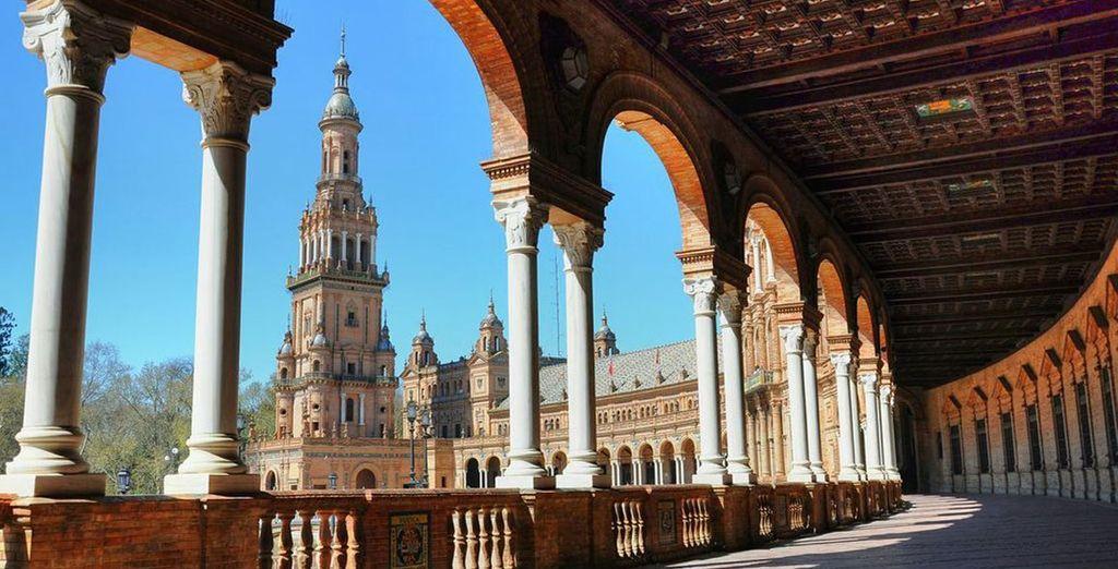 Experience the amazing Seville - Hesperia Sevilla 4*  Seville
