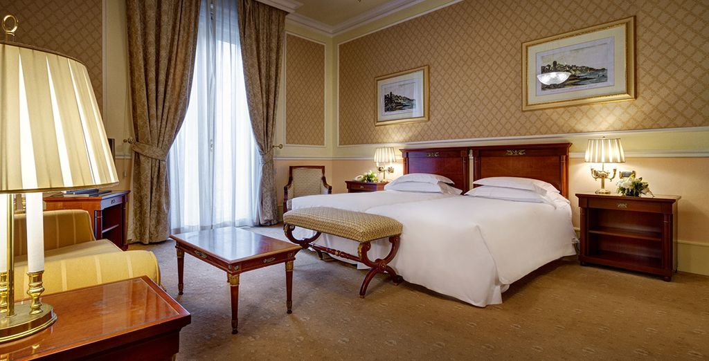 Your spacious Deluxe Room