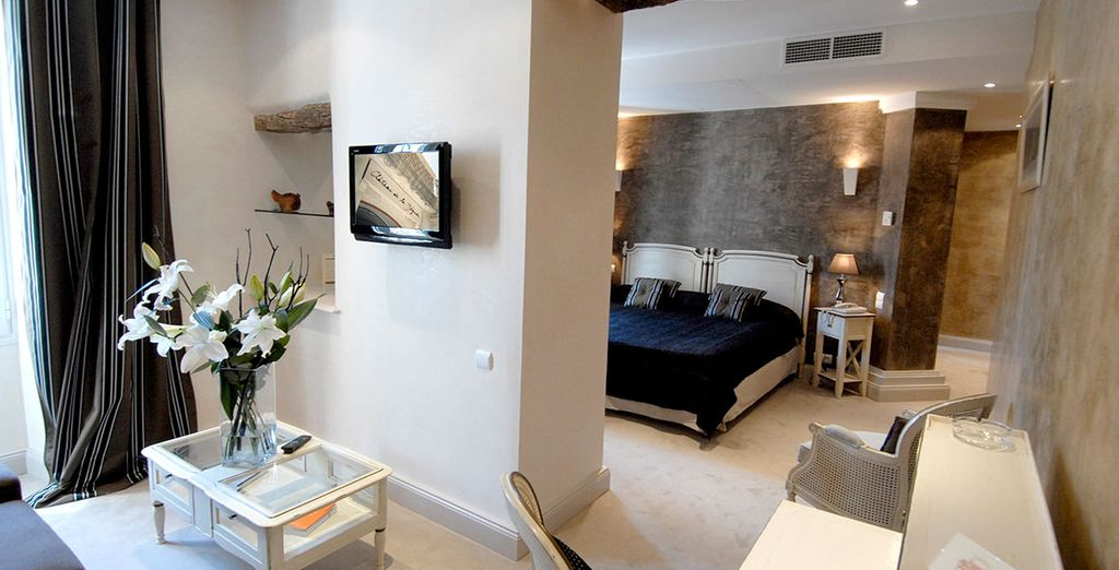 Where you will stay in a spacious Junior Suite