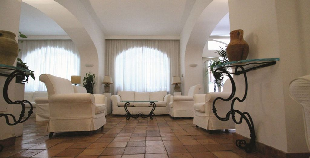 Waiting to be discovered in this wonderful hotel - Hotel Villa Romana 4* Minori