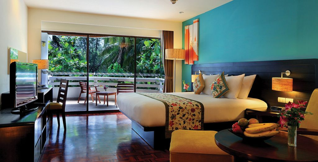 And enjoy a rich and colourful Superior Room