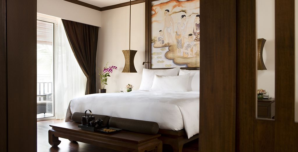 Stay in a Deluxe Room with direct pool access