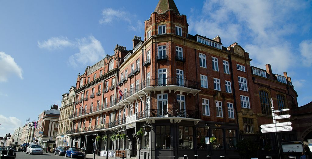 At the Harte and Garter hotel - The Harte & Garter Hotel 4* Windsor