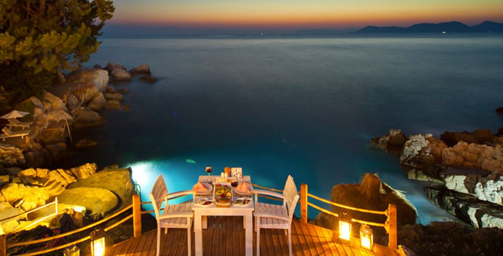 Or perhaps enjoy a private a romantic dinner