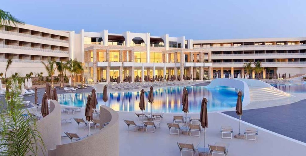 For a stay at the 5* Princess Andriana Resort in sunny Rhodes - Princess Andriana Resort & Spa 5* Rhodes