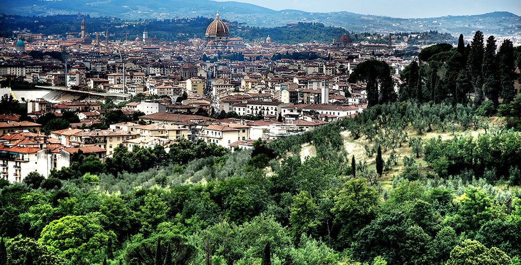 Sitting high in the hills above Florence