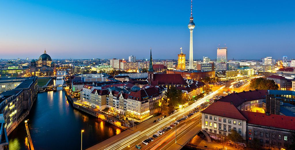 Escape to one of the most eclectic cities in Europe... - Kempinski Bristol Hotel 5*  Berlin