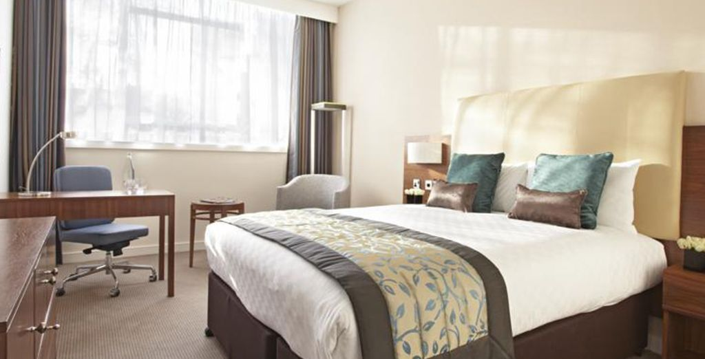 Enjoy a 1 or 2 night stay at a central London hotel