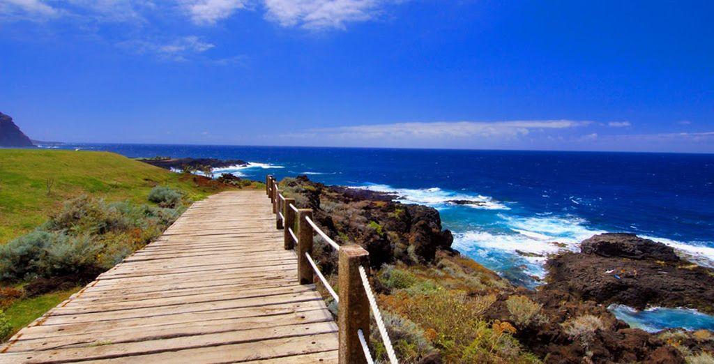 Explore the stunning coastline