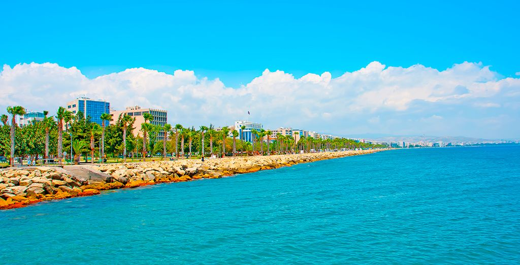 Located in stunning Limassol, Cyprus