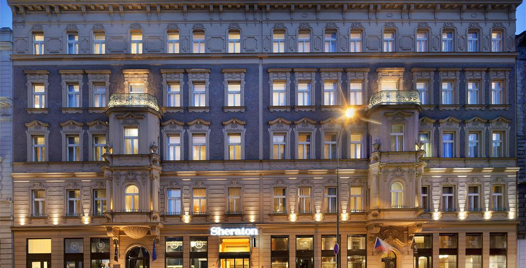 Stay in this impressive 19th century building... - Sheraton Prague Charles Square 5* Prague