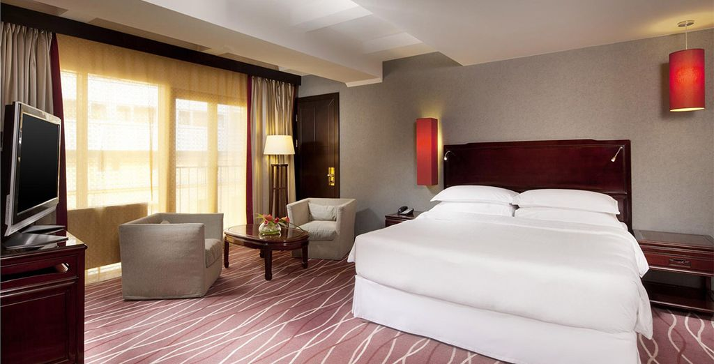 Enjoy a stay in an Executive Room