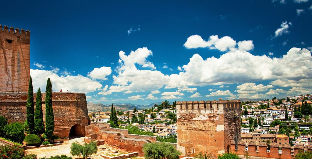 In the fascinating, historical city of Granada