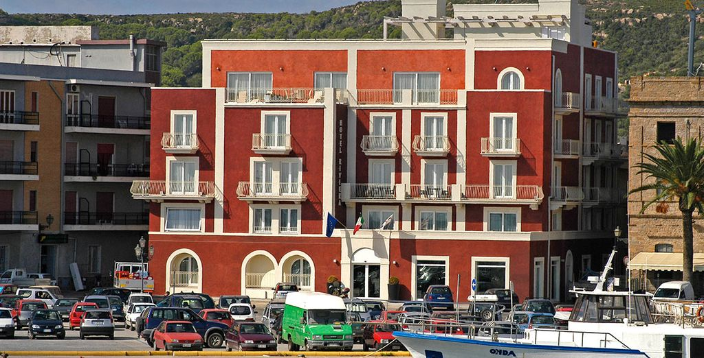 Stay at this perfectly located hotel in Carloforte - Hotel Riviera Carloforte