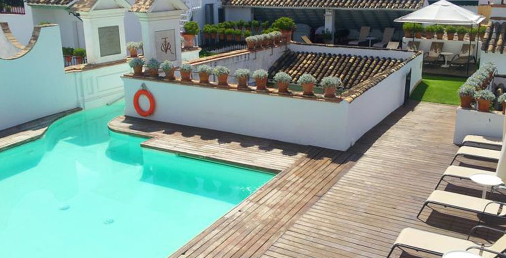 Head for the sun, and the rooftop pool
