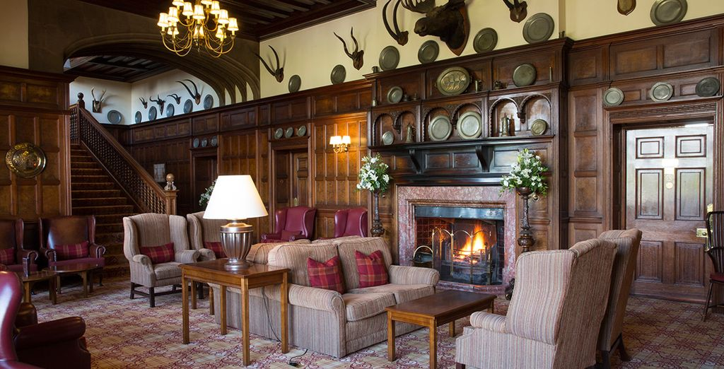 With a traditional, cosy feel - Armathwaite Hall Country House 4* Keswick